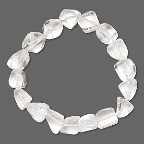 Quartz Crystal Tumbled Bracelet